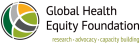 Global Health Equity Foundation logo